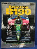 GP Car Story Vol.15 Benetton B190 Ford F1 Formula 1 Motor Japanese Magazine