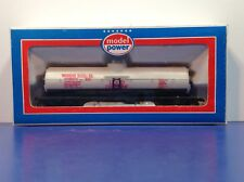"HO Scale ""Michigan Alkali Company"" Tank Car GATX 39617 Tanker / Model Power"