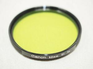 Canon 52mm G1 Green Filter