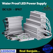 15 W-controlador Transformador LED Impermeable 300 W IP67 fuente de alimentación para DC12V de tira