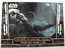 Star Wars Clone Wars Widevision Foil Character Chase Card #11