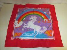 Unicorn & Rainbow Themed Bandana Handkerchief Scarf