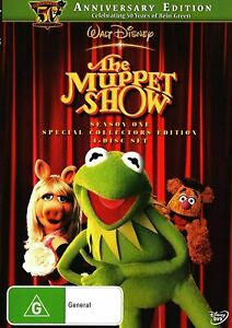 THE MUPPET SHOW (COMPLETE SEASON 1 - DVD SET vgc region 4  t81