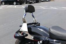 New CHOP Detachable Sissy Bar Backrest for Harley Sportster XL 883 XL1200 04-18