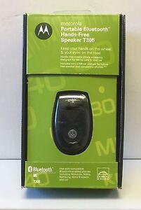 MOTOROLA Portable Bluetooth Hands-Free Speaker T305 : Model #98783H