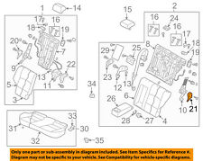 MITSUBISHI OEM 10-15 Lancer Rear Seat-Outer Cover Left 6977A667XA