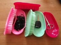 Horka Power Magic Multi Brush Grooming Dandy Clever Storage Compartment Curry