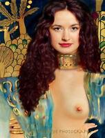 "Judith 8.5x11"" Photo Print Painting Gustav Klimt Nude Woman Biblical Fine Art"