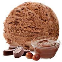 Gino Gelati Praline Nougat Geschmack Eispulver Softeispulver 1:3 - 1 kg