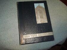 1954  SACRED HEART HIGH SCHOOL YEARBOOK VINELAND NJ VINE LEAVES