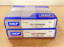 1 NEW SKF 7013CD/P4ADGA SUPER PRECISION BEARING SET NIB ***MAKE OFFER***
