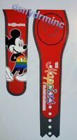 Disney World HAPPIEST PLACE Rainbow Pride Mickey Mouse Red Magicband Magic Band