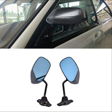 Car Vehicles Racing Side Rear View Mirrors Universal F1 Style Carbon Fiber Color