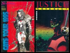 1995 Phil ENTITY KOMIKS JUSTICE COVENANT #2A SIGNED Comics