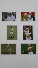 ENDY RODDICK - 6 DIFFERENT STICKERS - TOP TENNIS 2007 EDITION