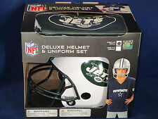 NEW YORK JETS Halloween Costume - Kids SMALL Deluxe Youth UNIFORM SET