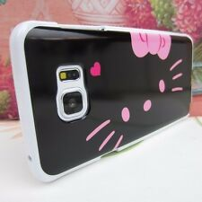 Hello Kitty #BP Impact Silicone Rubber Cover Case for Samsung Galaxy Note 5 V