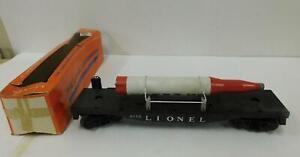 LIONEL 6175 ROCKET CAR (BLACK FRAME)