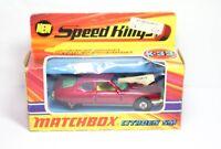 Matchbox Speedkings K-33 Citroen SM In Its Original Box - Nice Vintage Original