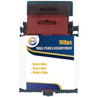 100x Wall Plugs 5-7mm