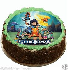 Slugterra Cake topper edible image icing  REAL FONDANT