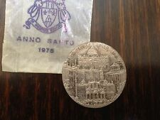 "Roman Catholic ""Anno Santo"" Holy Year Collectors Vintage Coin Made in Italy"