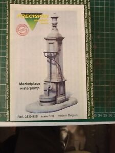 Collectable 1/35 Marketplace Waterpump Resin Model Kit For Railway Diorama