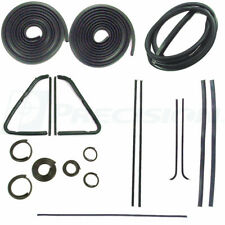 51-53 Chevy Truck Complete 5-Window Kit Door Gaskets Glass Weatherstrip Beltline