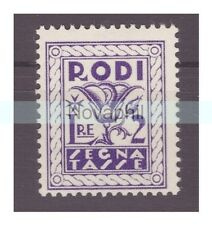 EGEO RODI  1934  -  SEGNATASSE   LIRE 2   NUOVO **