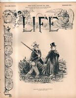 1899 Life August -  Philippines are a swamp; Mermaids; Cleveland gets cleaned up