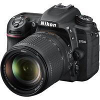 NEW NIKON D7500 DSLR KIT DIGITAL SLR CAMERA - BLACK with 18-140mm VR Lens 20.9MP