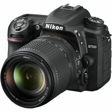 NEW NIKON D7500 DSLR KIT DIGITAL SLR CAMERA - BLACK with 18-140mm VR Lens 20.9MP