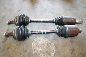 JDM 97-01 Honda Prelude Type SH H22A Red Top Front oem CV Joint Axles Shaft BB7