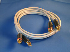 Monster stereo Audio Cable Cinch Kabel 1 5m JHIU vergoldet