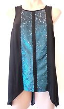 PORTMANS - Sz 10 - Sequin TOP ! $79.95 BNWT