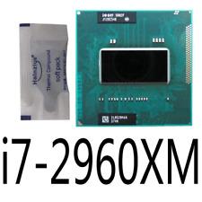 Intel Core i7-2960XM 2.7G/4 cores/8M SR02F 55W Mobile CPU Processor