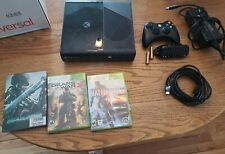 Microsoft Xbox 360 E Game Console - Black W/Controller keyboard & cables & games