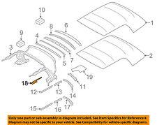 MINI OEM 09-17 Cooper Convertible Top-Frame Cover Left 54342758089