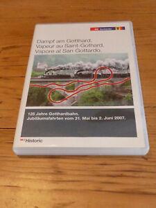DVD Dampf am Gotthard - 125 Jahre Gotthardbahn - Gottardo - SBB Historic