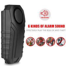 Bicycle Bike Alarm Security Lock Wireless Anti-theft Loud Sound Remote Control