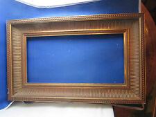cadre de tableaux doré a canaux epoque 1980 bois