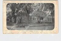 PPC POSTCARD NEW JERSEY PLAINFIELD TRUELL COURT EXTERIOR STREET VIEW UNDIVIDED B