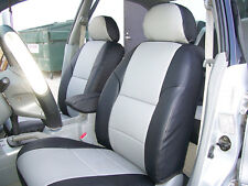 VW JETTA 2000-2005 IGGEE S.LEATHER CUSTOM FIT SEAT COVER 13 COLORS AVAILABLE