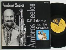 Levé seelos the Man with the saxophone rare EMIDISC Funk Jazz Lp Mint -
