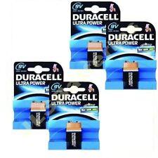 4x Pilas Duracell Ultra 9v BLOQUE Pp3 Pilas alcalinas