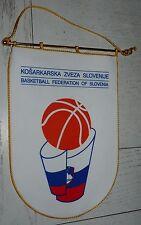 FANION XL BASKETBALL FEDERATION BASKET SLOVENIE KZS PENNANT WIMPEL