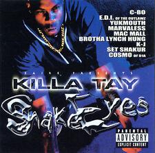 New: Marvaless, C-Bo, Mac Mall, Killa: Snake Eyes Explicit Lyrics Audio Cassette