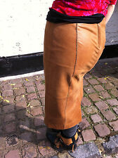 """NEXT Real LeaTHeR Skirt UK8 / EU36 /W 30"""" -real"""