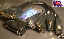 RS-232 4 port Serial 9Pin PCMCIA Cardbus 16C950