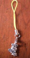 bijou de portable lapin avec raquette 15x10 mm